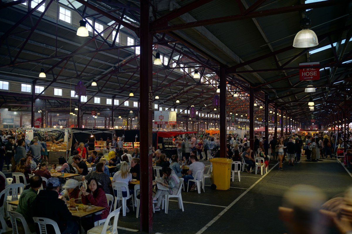 Summmer Market at Queen Victoria Market