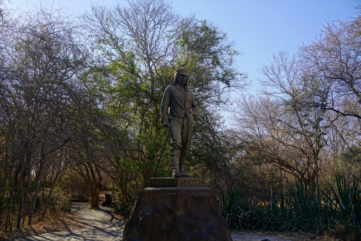 Statue von David Livingstone