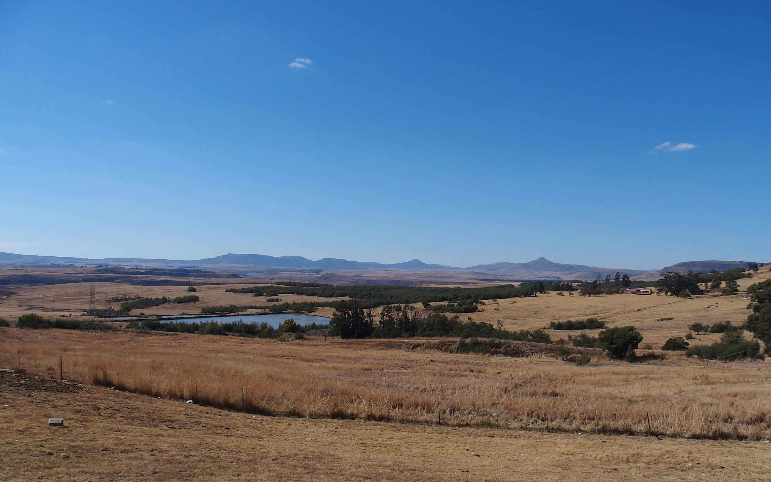 Landschaft in der Region Mpumalanga